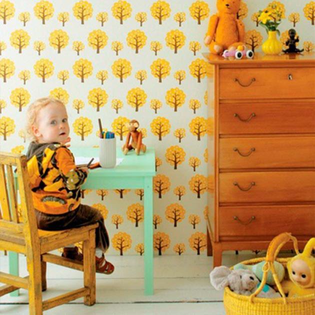 El papel pintado es una tendencia que te muestran los mejores blogs de decoración.