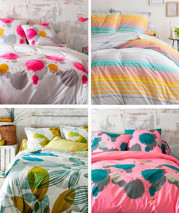 Dormitorios renovados: Colourful.