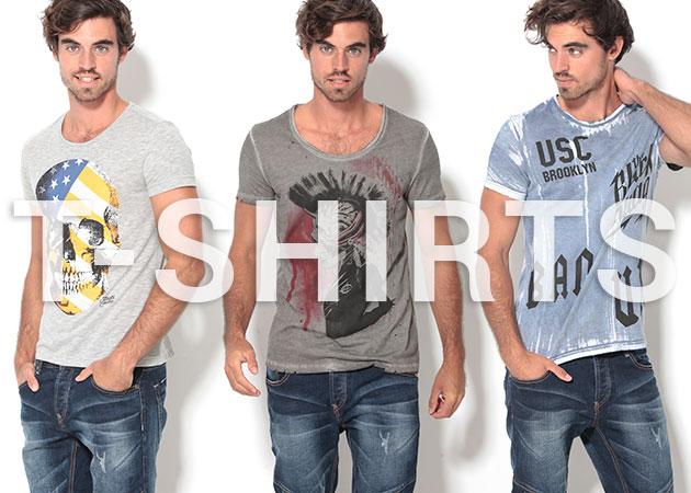 Nueva colección de hombre: camisetas.