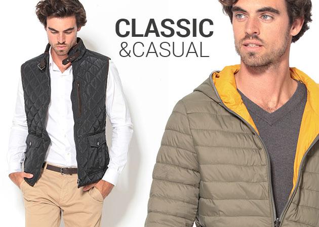 Nueva colección de hombre: classic & casual.
