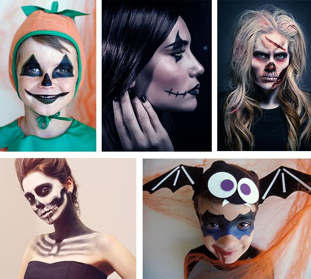 El mejor maquillaje para la noche de Halloween.
