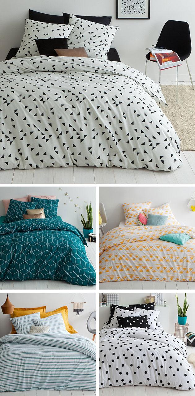 Los estampados más originales para tu cama.