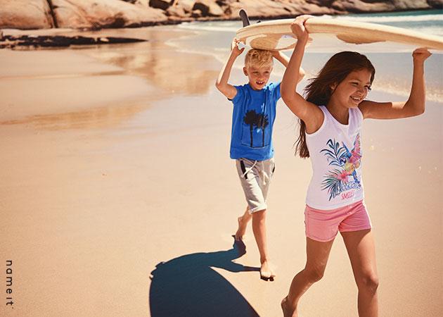 Ropa de niños de nuestra colección de verano.