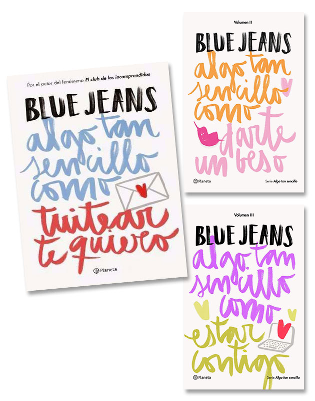 Las mejores novelas de comedia romántica: algo tan sencillo de Blue Jeans.