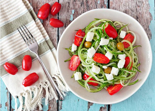 Recetas frescas: ensalada