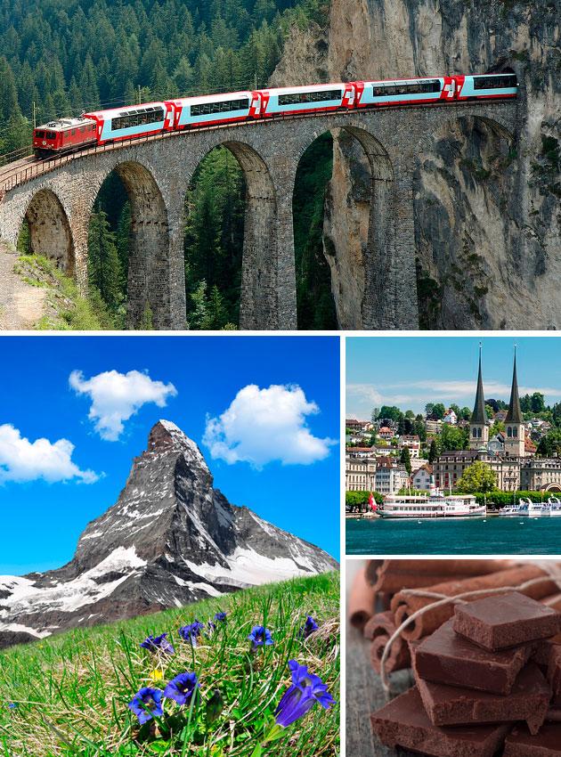 Vacaciones: Suiza