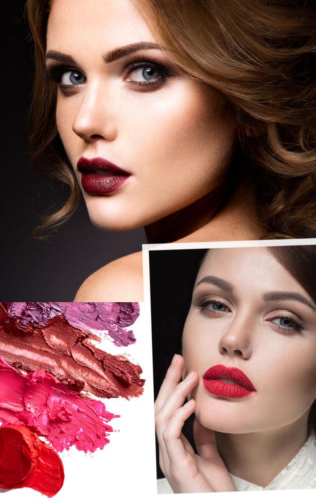 Maquillaje de otoño: labios