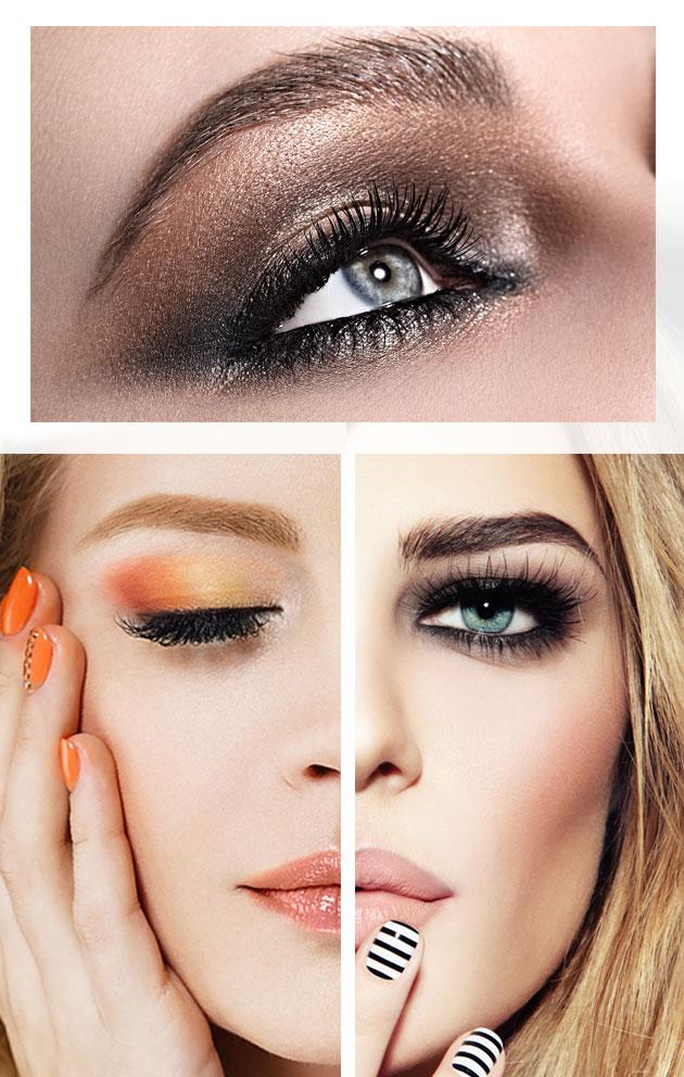 Maquillaje de otoño: ojos