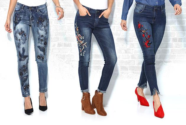 Denim store: pantalones