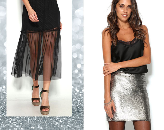De fiesta: faldas