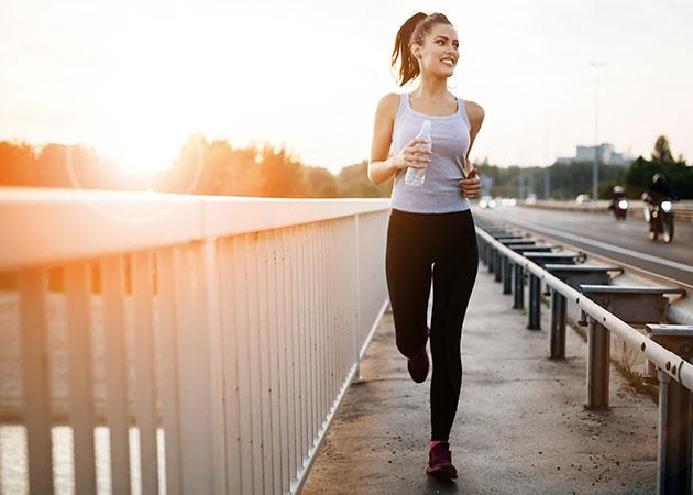 Día contra el cáncer de mama: runner