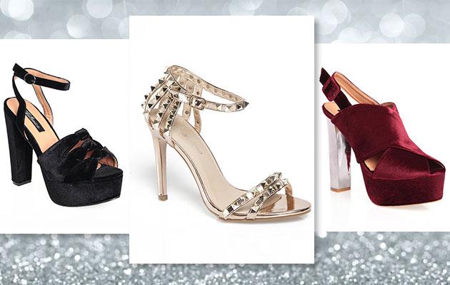 De fiesta: calzado