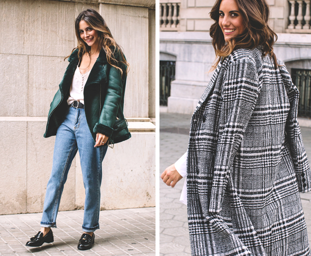 El abrigo de mujer: influencer
