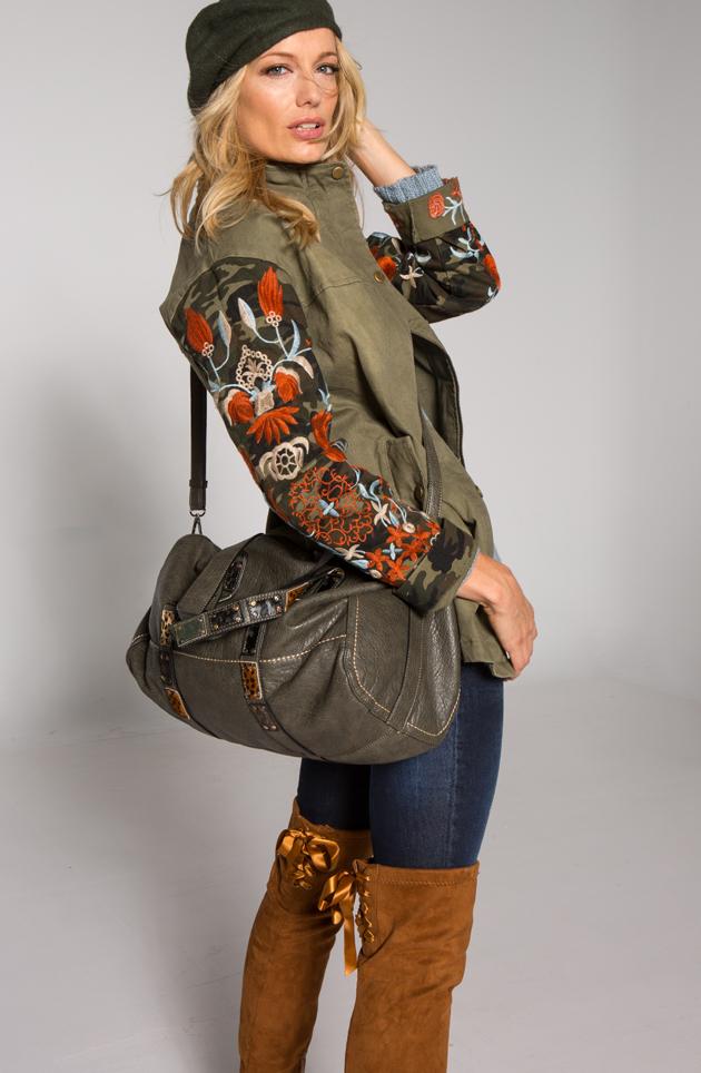 Los abrigos de mujer: bohemia