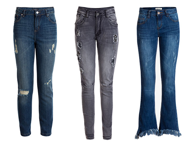 Outfits de invierno: Denim