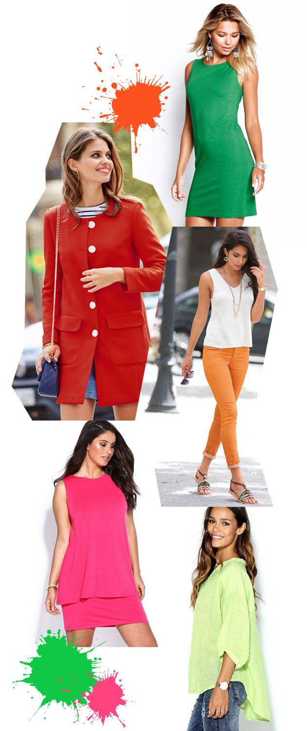Looks modernos: colores
