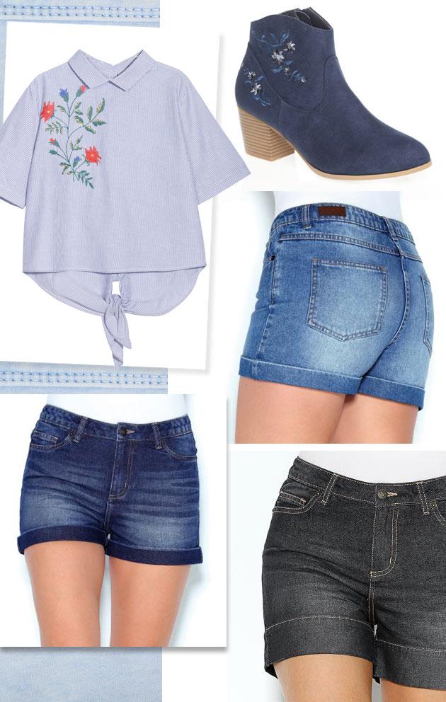 Vaqueros: shorts
