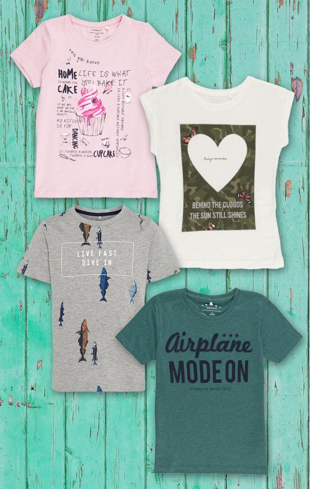 Moda infantil: T-Shirt